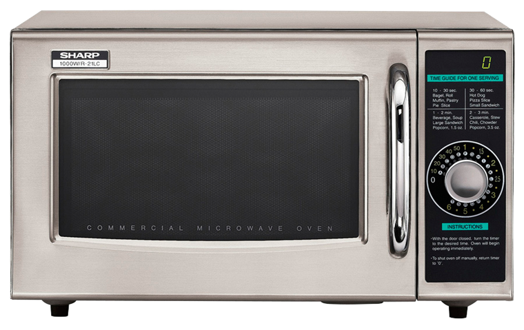 SHARP MICROWAVE, R21LCFDIAL