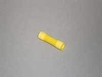 BUTT CONNECTOR, 12-10 GAUGE, YELLOW, 0.40 THICKNESS