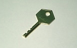 RESTRICTED KEY, FOR VE721/VE725 LOCK