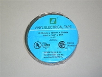 ELECTRIC TAPE-BLACK VINYL 3/4