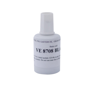 PAINT, BLACK TOUCH UP PAINT 1 OZ, BRUSH IN CAP