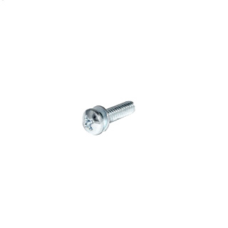 SCREW, #8, 32 X 5/8 PAN HEAD SCREW WITH LOCK WASHER
