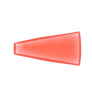 SHELF LINER, CENTER, RED, 1/3