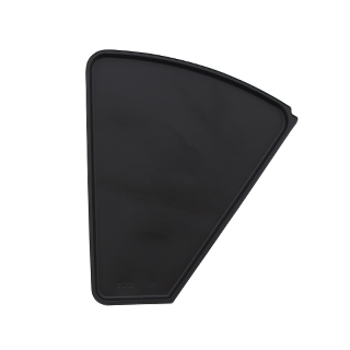 SHELF LINER, LEFT HAND, BLACK, 1/2, FOR NATIONAL 432