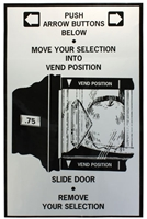 LABEL-SLIDE DOOR, REMOVE SELECTION FOR NATIONAL 430/431