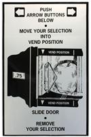 LABEL-SLIDE DOOR, REMOVE SELECTION FOR NATIONAL 430/431