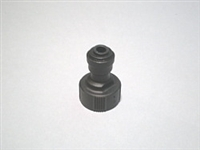 FITTING, PLASTIC, 3/4 GARDEN X 1/4 COMPRESSION, FOR N & W