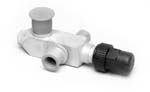 VALVE, SERVICE -SUCTION PORT 1/2