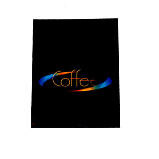 SIDE DECAL, BLACK, COFFEE, FOR COLIBRI