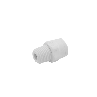 CONNECTOR, MALE CONNECTOR, .25 TUBE X 25 MPT