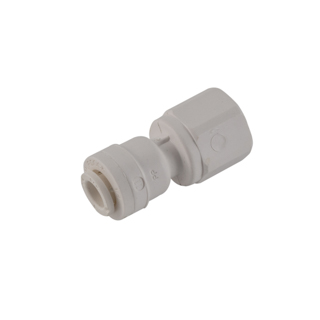 CONNECTOR, FEMALE, .25 TUBE X .25 FPT