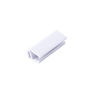 GUAGE BAR CLIP, SHORT, WHITE