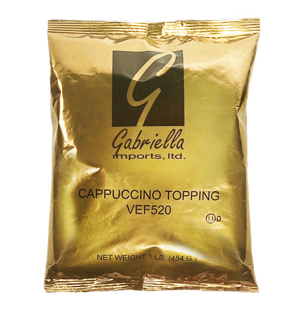 PREMIUM CAPPUCCINO TOPPING, GABRIELLA (PER CASE)