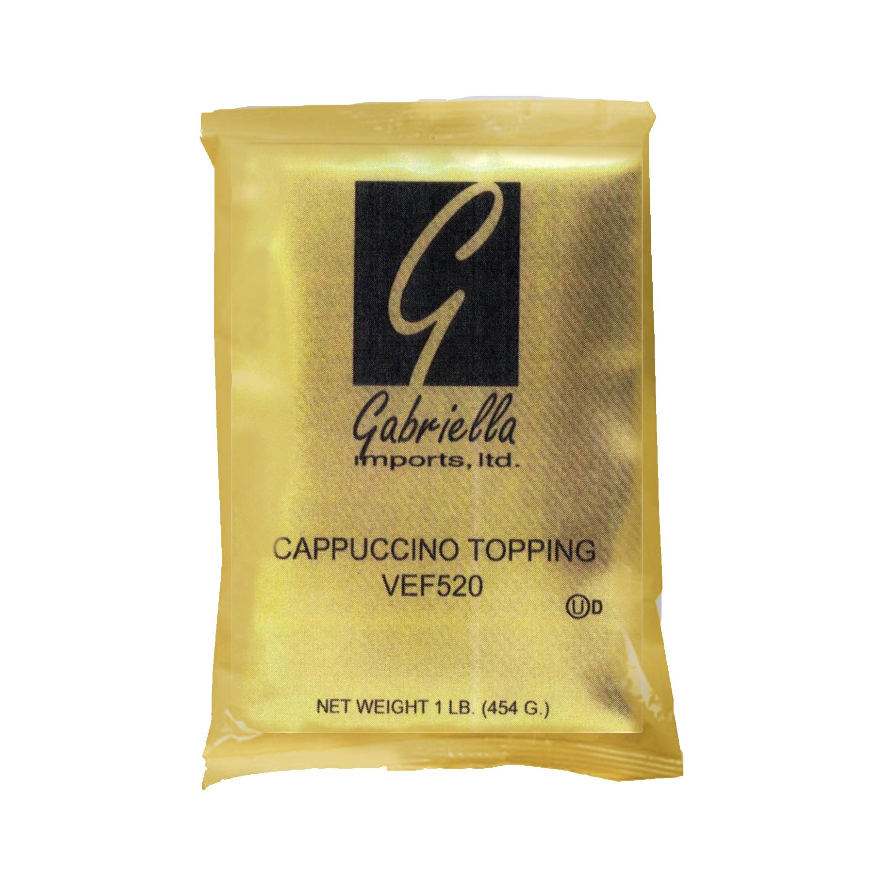 CAPPUCCINO TOPPING, GABRIELLA